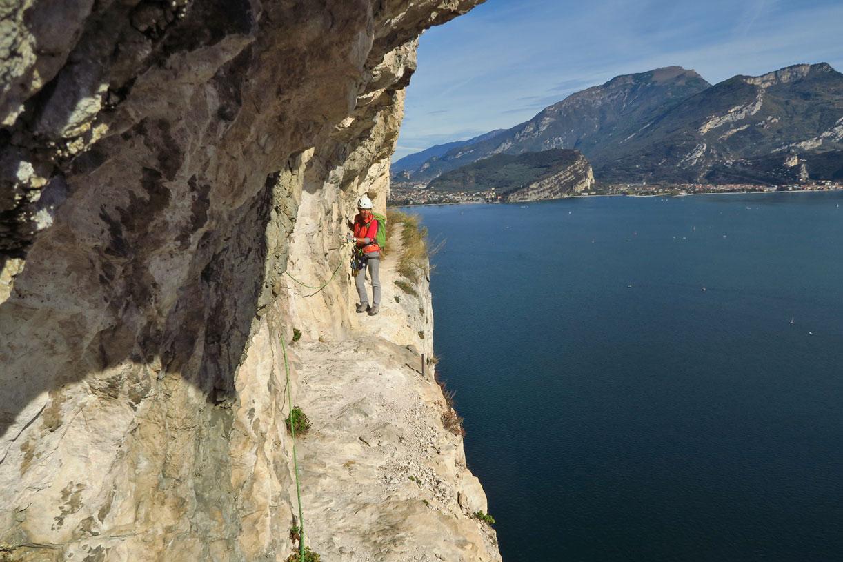 Klettersteig Arco : Colodri klettersteig arco youtube
