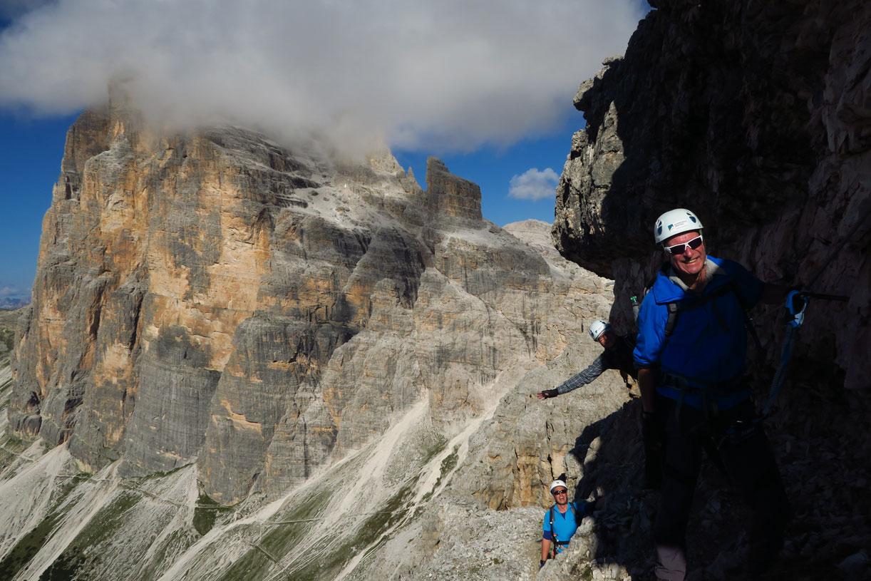 Klettersteig Plattkofel : Klettersteige große dolomitengipfel